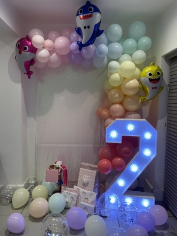 Light Up Numbers Hire