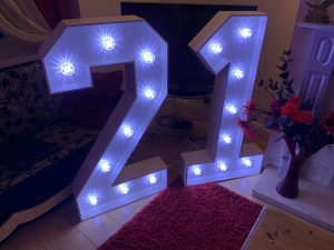 Light Up 21 Numbers