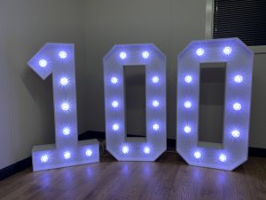 Light Up Numbers 100