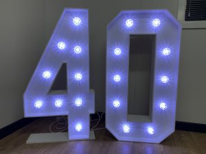 Light Up Numbers 40