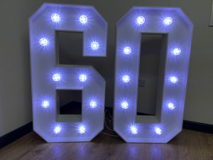 Light Up Numbers 60