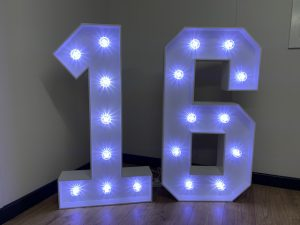 Light Up Numbers 16