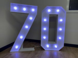 Light Up Numbers 70