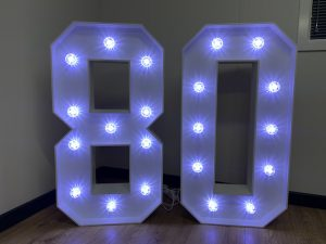 Light Up Numbers 80