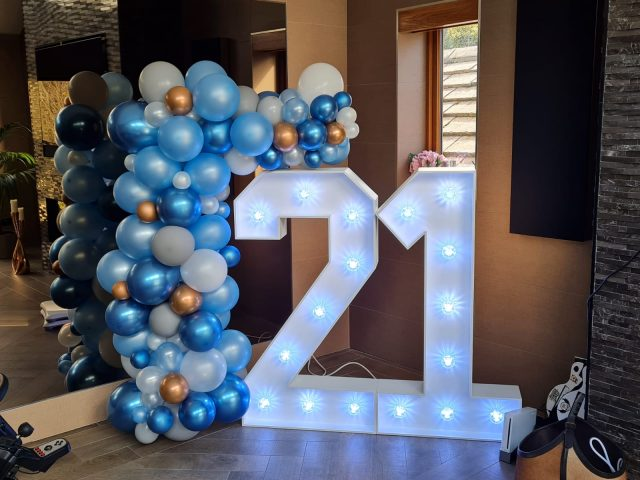 Light Up Numbers 21
